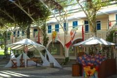 Decoração do Vila Barra Shopping da Ilha