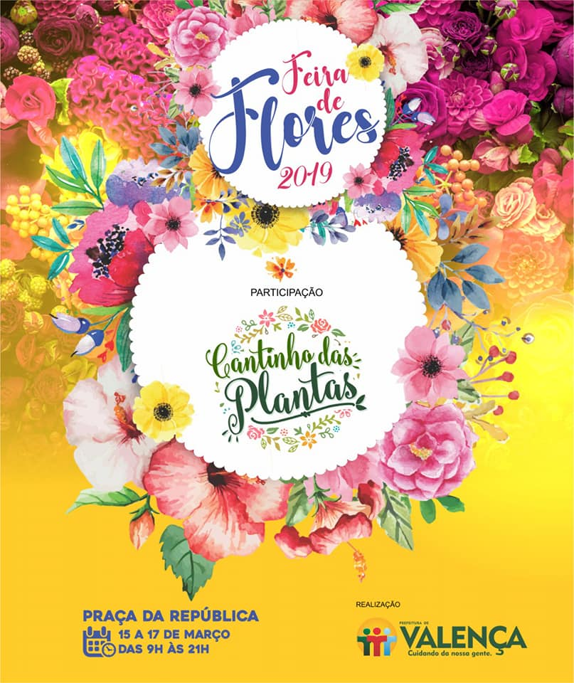 Feira de Flores-Cantinho das Plantas