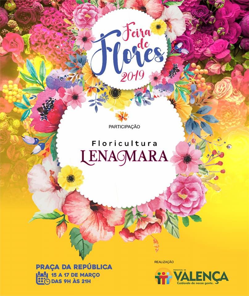 Feira de Flores-Floricultura Lena Mara