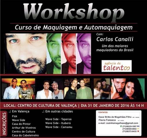 Workshop- Carlos Canalli en valença