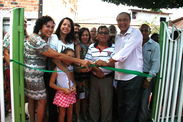 Reinauguração da reforma da antiga Valença Fitness Park - Fotos: Jornal Valença Agora