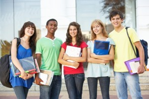http://www.dreamstime.com/stock-photography-teenage-students-standing-outside-college-building-image14634382