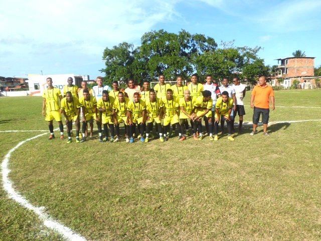 Equipe do novo Horizonte, campeã do Jacarezão 2016