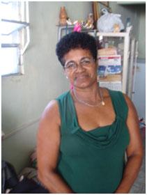 Maria Damiana da Paixão – Tesoureira da pastoral da Saúde