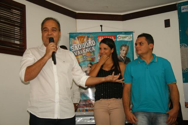 Eduardo Ribeiro e sua equipe Itaipava