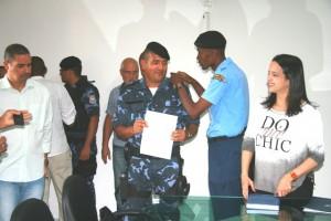 Valfredo Santana é o novo comandante da Guarda Civil de Valença