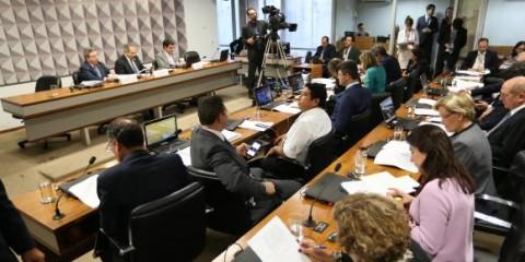 Brasília - A Comissão Especial do Impeachment no Senado discute a admissibilidade do processo de impeachment contra a presidente Dilma Rousseff