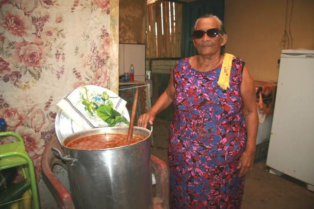 Dona Iraci Vieira da Silva, viúva do Sr. Didico