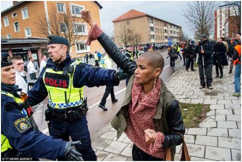 Um ícone da luta contra a extrema direita, a xenofobia e o racismo.