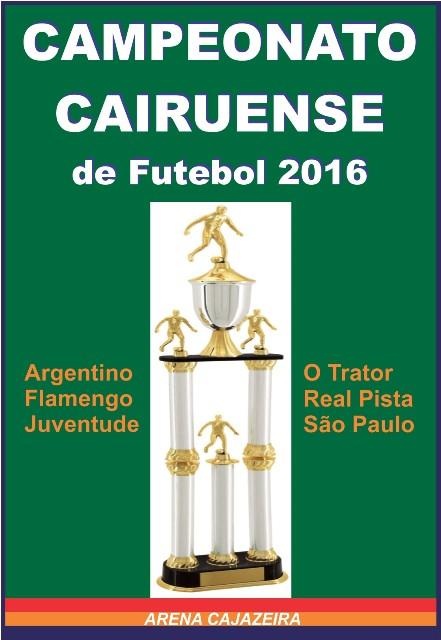 Futebol 2016 Cairu