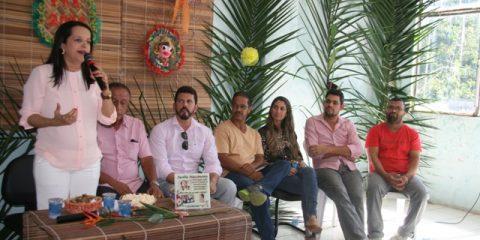 Prefeita Jucélia Nascimento fala sobre o programa