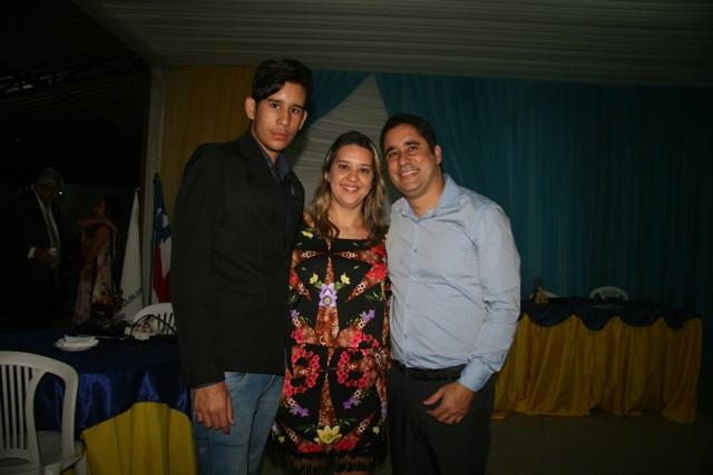 Anderson Freitas, presidente 2015-2016 e família