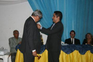 Anderson Freitas transmite o cargo de presidente do Rotary Valença para José Elias Antar