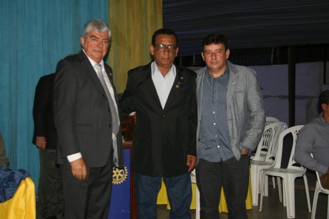 José Antar, Ailton Santana e Paulo Martins - Nova diretoria