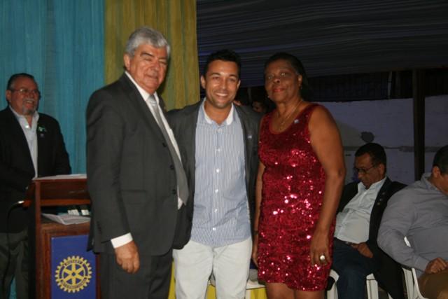 José Antar, Márcio Ferreira e Edna Xavier - Nova diretoria