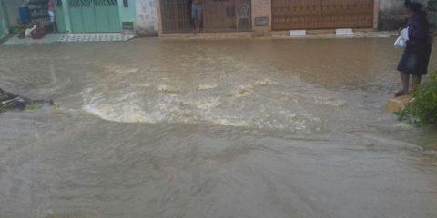 enchente em valenca