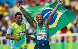 Ricardo Costa de Oliveira levou o primeiro ouro do Brasil nas Paralimpíadas