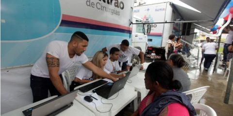 Mutirão de Cirurgia em Ipiau Foto: Elói Corrêa/GOVBA