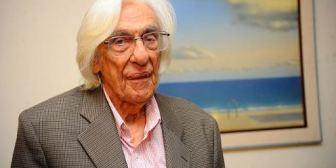 O poeta maranhense Ferreira Gullar foi eleito para Academia Brasileira de Letras para a cadeira 37, sucedendo o poeta e tradutor Ivan Junqueira (Fernando Frazão/Agência Brasil)