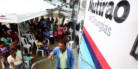 Mutirão de cirurgia em Santo Antônio de Jesus  Foto: Elói Crrêa/GOVBA
