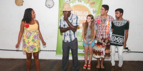 Sessão de Artes da PM oferece oficinas de teatro, música e capoeira, além de ações de aproximação com a comunidade e escolas.   Fotos:  Daniele Rodrigues/GOVBA