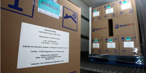 Distribuição do teste rápido de Zica vírus pela BahiaFarma