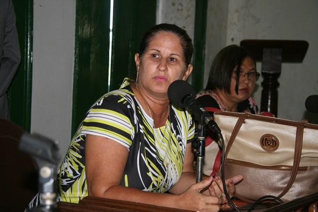Margarete Moura, primeira-dama e secretária de Promoção Social