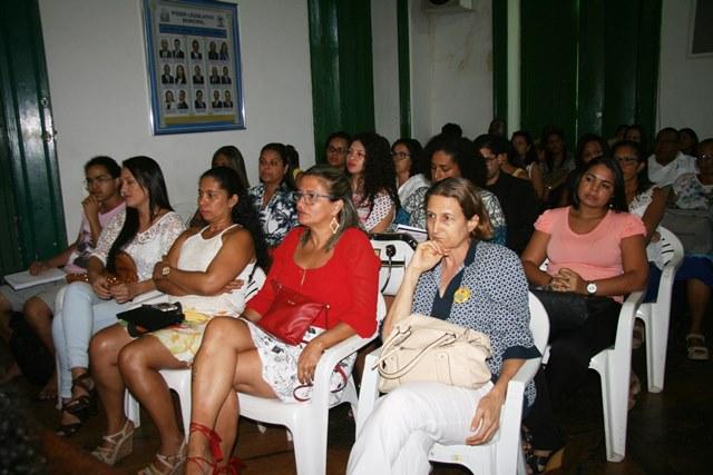 Mulheres lotaram a Plenária da Câmara de Vereadores