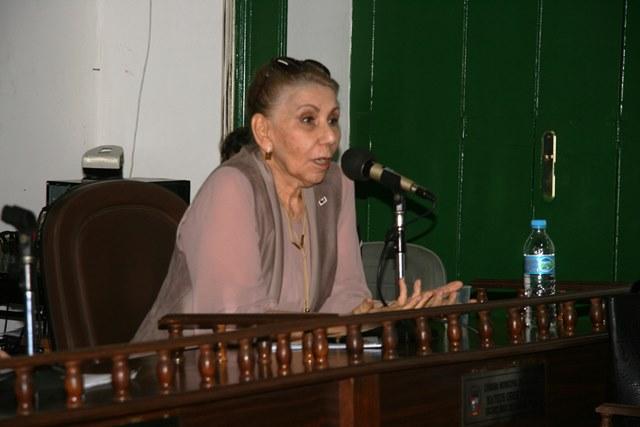 Representante da ESA, Dra. Itana Viana
