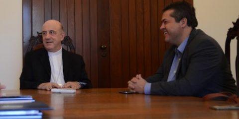 Arcebispo de Salvador e Primaz do Brasil, Dom Murilo Krieger e o deputado Alex Piatã