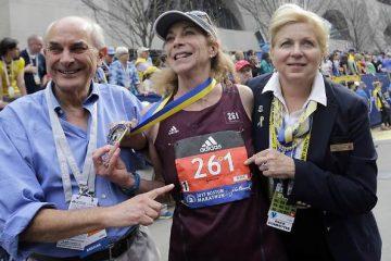 Kathrine Switzer, primeira mulher a correr a Maratona de Boston
