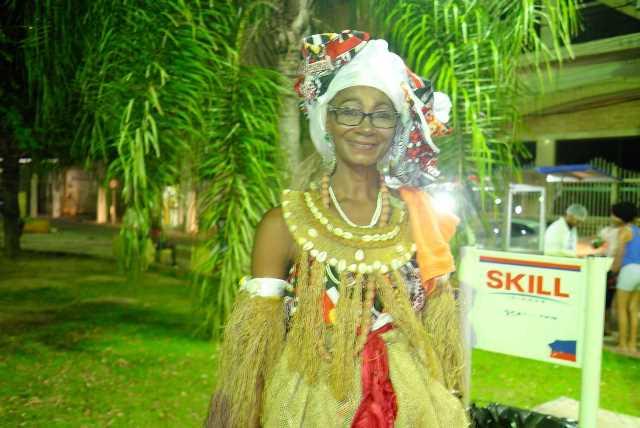 Célia Praesent, idealizadora da caminhada e professora de dança afro