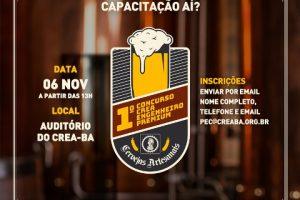 Curso de produção de cerveja artesanal_Crea-BA