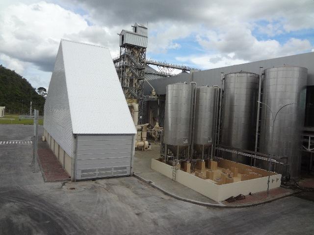 Instalações da fábrica do Grupo Petrópolis em Alagoinhas – BA