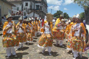 Congos participaram dos festejos em homenagem ao padroeiro