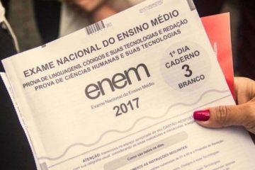 enem 2017 resultado