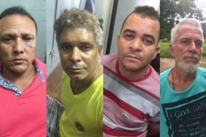 Envolvidos no sequestro de Ramiro