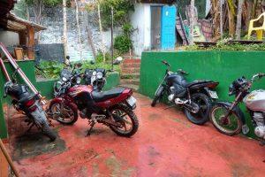 moto apreendida em cairu