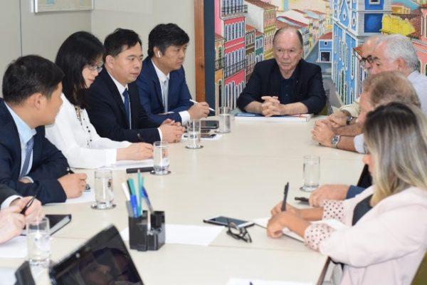 Reunião ocorreu na sede da SDE