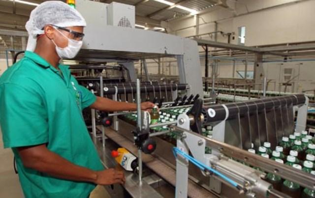 Nova Fábrica de Refrigerante Industria s São Miguel que vai ser inaugurada na Bahia Na foto: Carla Ornelas/SECOM