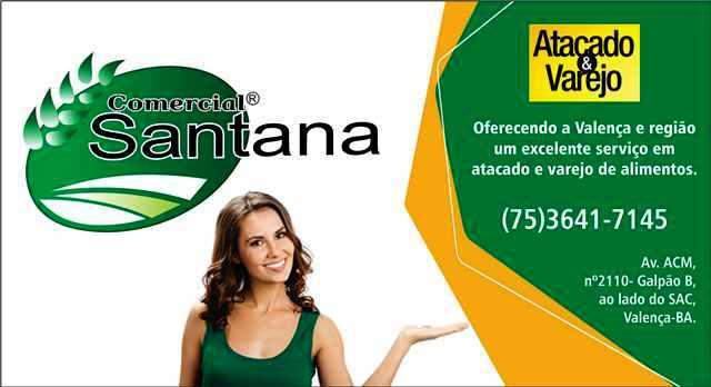 anúncio com santana